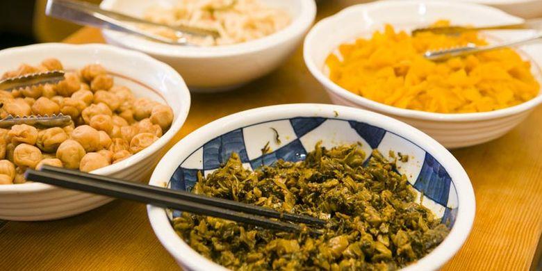 Restoran Wappa-teishokudo yang terletak di Kego, Prefektur Fukuoka, Jepang. Restoran ini dikenal sebagai pencetus varian menu yang berlimpah dan mengenyangkan.