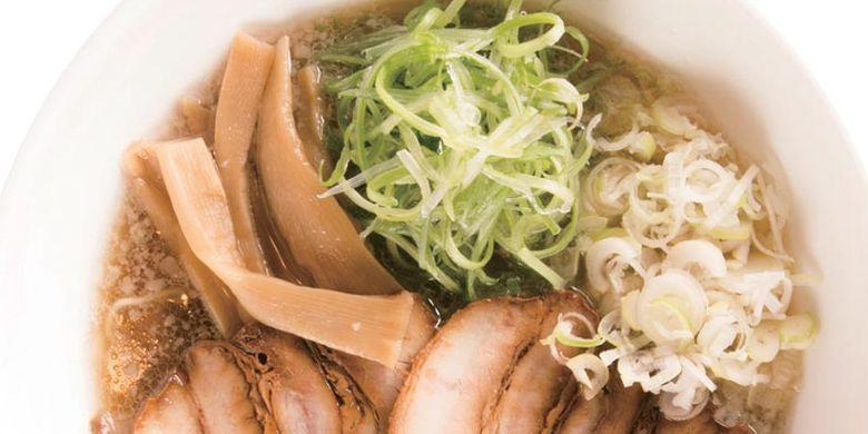 Ramen Misato, gurih berkat lemak gaging berkualitas tinggi.