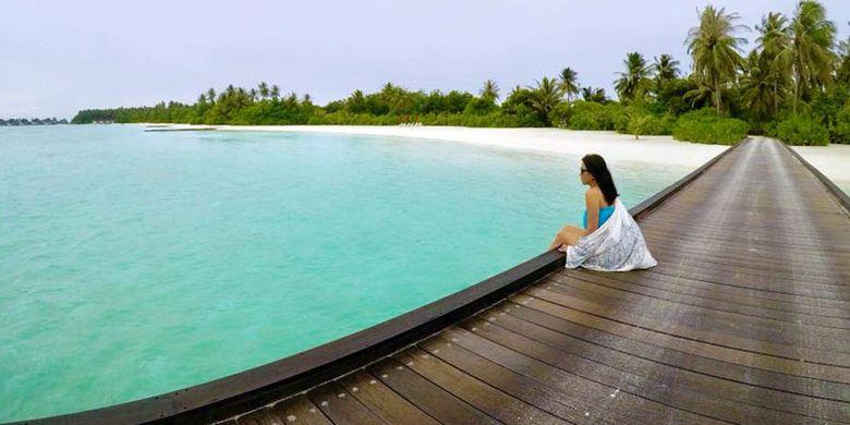 Niyama Private Islands di Maladewa. (depan)