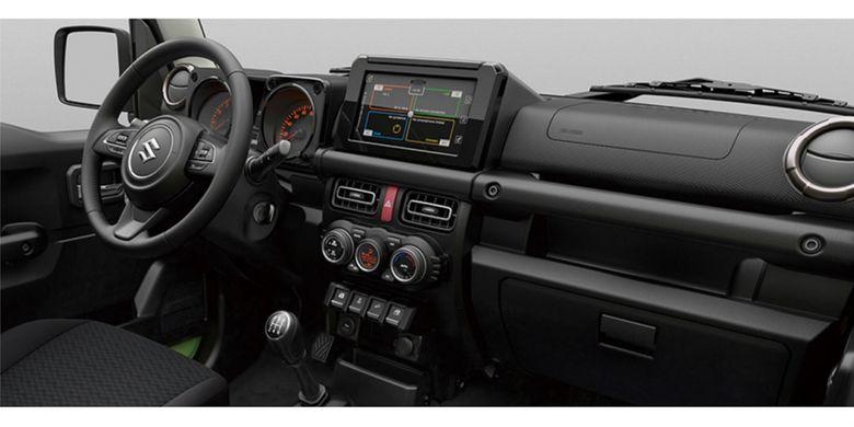 Suzuki merilis foto resmi dari produk SUV terbaru Jimny dan Jimny Sierra(Suzuki Corp)