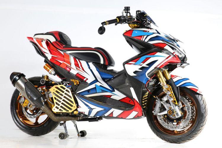Modifikasi Yamaha Aerox Denpasar
