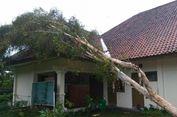 Hujan dan Angin Kencang di Klaten, Rumah Warga Rusak dan Pohon Roboh