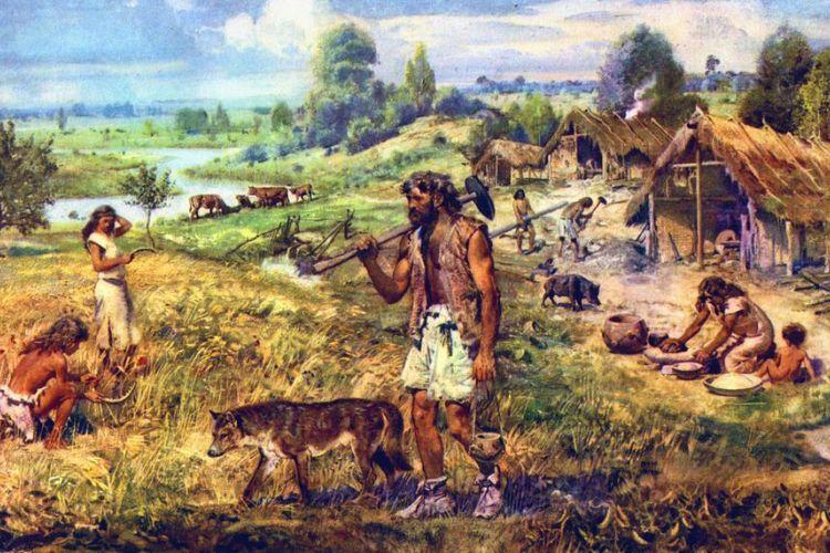 Ilustrasi Zaman Neolitikum