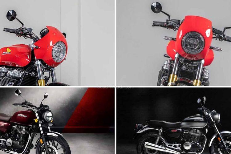 Honda Hness CB350 versi cafe racer dikabarkan sedang dipersiapkan