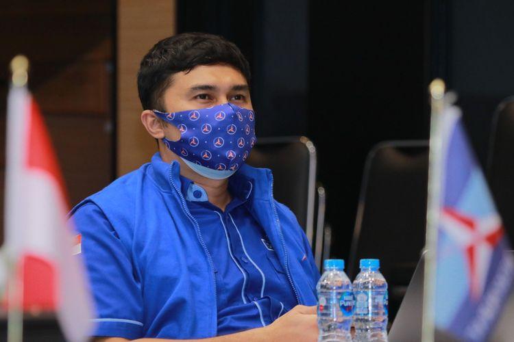 Potret Kepala Badan Komunikasi Strategis Partai Demokrat Herzaky Mahendra Putra