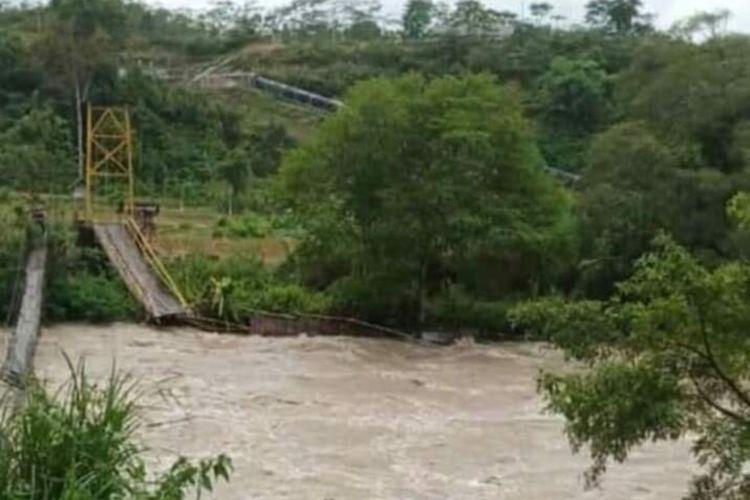 kondisi jembatan putus
