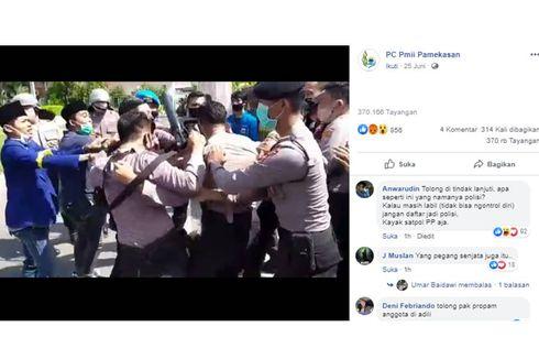 Viral, Video Polisi Disebut Lakukan Tindakan Represif pada Pendemo di Pamekasan