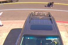 Wanita Ini Terekam Diseret oleh Mobil Milik Pencuri