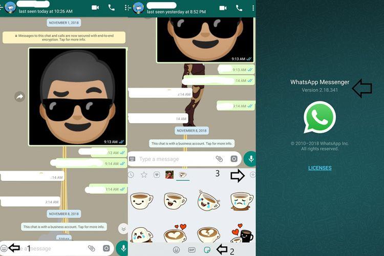 Cara Membuat Stiker Whatsapp Dengan Foto Wajah Sendiri Halaman All