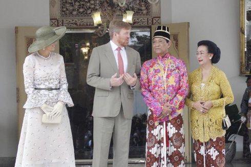 Ratu Belanda Lepas Sarung Tangan Saat Bersalaman dengan Sri Sultan, Disuguhi Tarian Tradisional