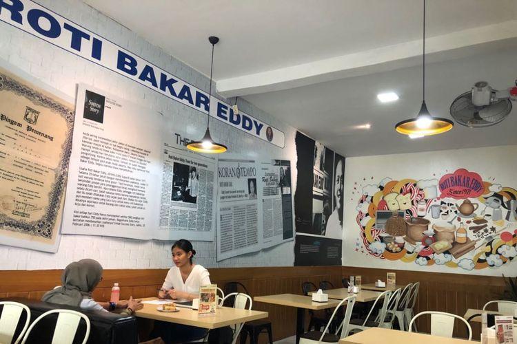 Salah satu gerai Roti Bakar Eddy.