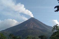 Rentetan Guguran Lava Gunung Karangetang, Terdengar hingga Pos Pengamatan