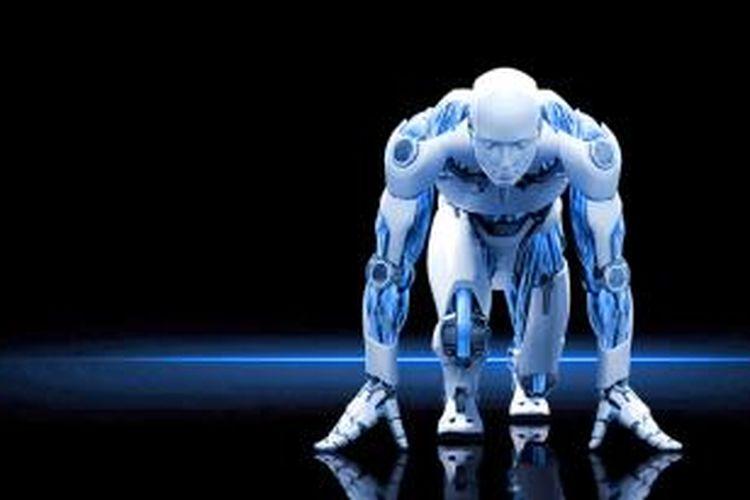 Ilustrasi cyborg
