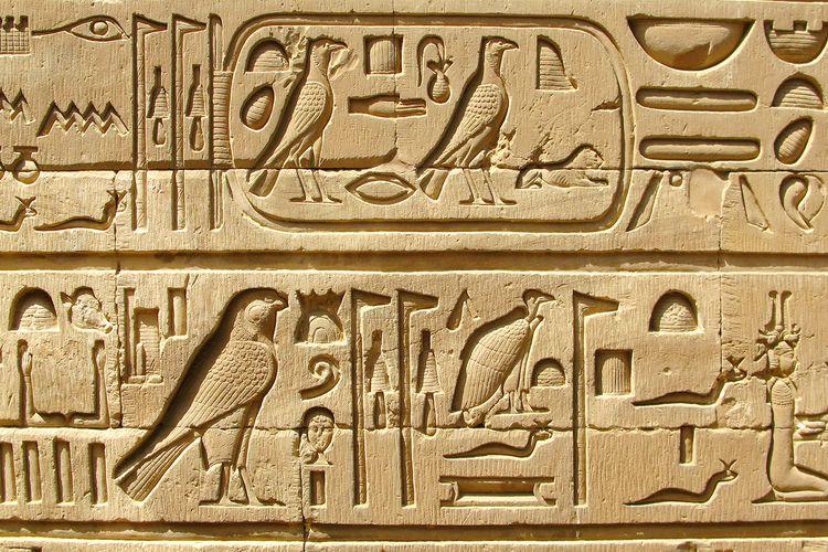Hieroglif Mesir Kuno