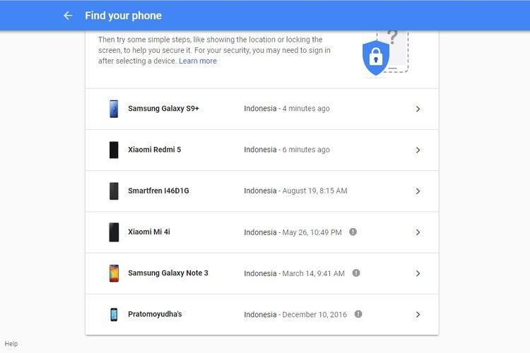 Cara membuka kunci Android yang lupa password.
