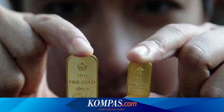 ANTM Turun Rp 12.000 Per Gram, Berikut Harga Emas Antam Hari Ini