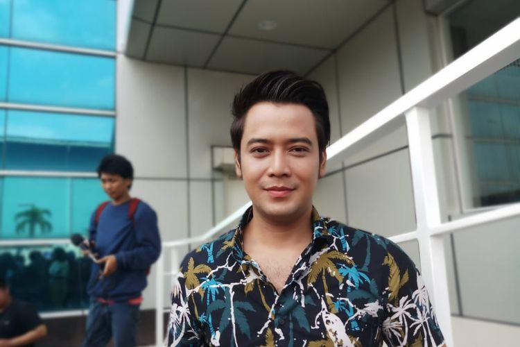 Artis Kriss Hatta saat ditemui di kawasan Tendean, Jakarta Selatan, Kamis (23/1/2020).