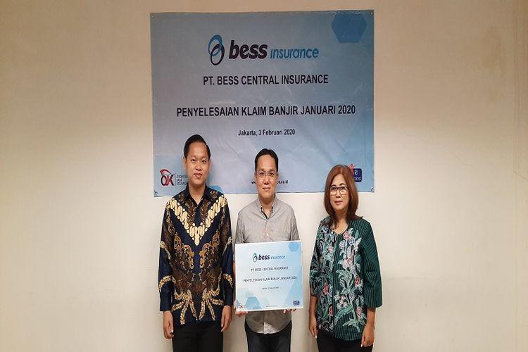 Acara syukuran penyelesaian klaim banjir Bess Insurance periode Januari 2020