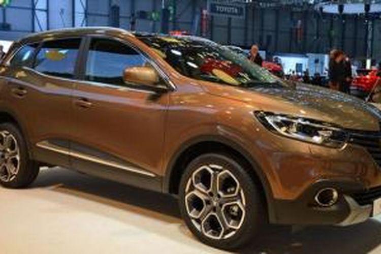 Renault Kadjar di Geneva Motor Show 2015