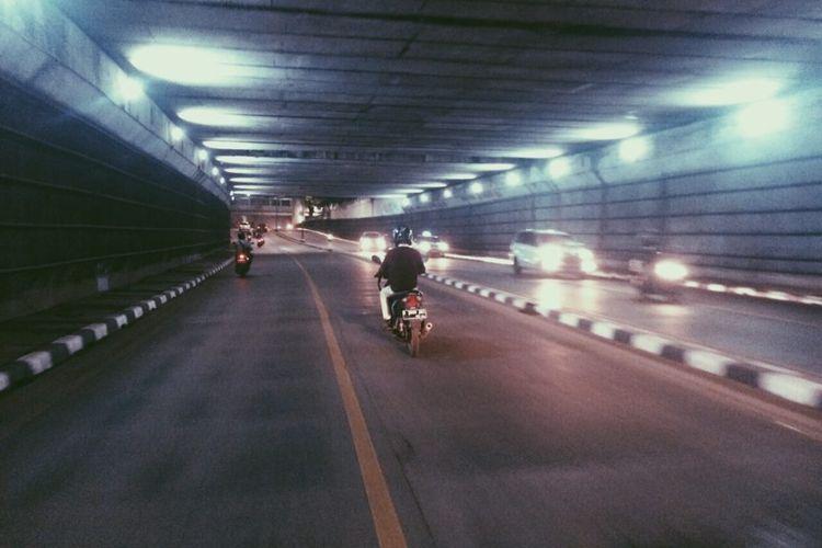 Marka jalan terowongan