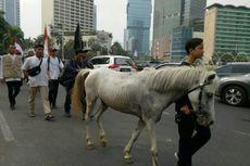 Massa Mujahid 212 Mulai Bergerak Mendekati Istana Negara