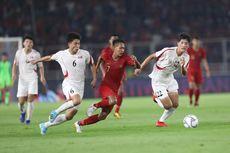 Timnas U-19 Indonesia Vs Korea Utara, Garuda Muda Samakan Kedudukan