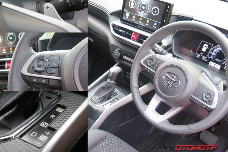 Interior Toyota Raize GR Sport Non-TSS