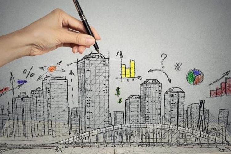 Potensi keuntungan dari apartemen yang dijual kembali sebelum seluruh gedung terbangun mencapai 30 persen sampai 50 persen - data Colliers International Indonesia.