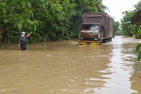 Banjir akibat Luapan Sungai Serayu Terakhir Terjadi 20 Tahun Lalu