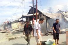 Kompor Jatuh Saat Gempa Ambon, 8 Bangunan Terbakar