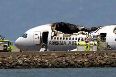 Pesawat Asiana Airlines yang Jatuh Membawa 292 Penumpang