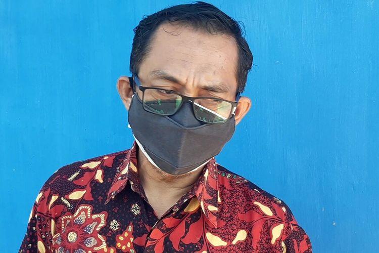 Direktur Utama (Dirut) PDAM Solo Agustan ditemui di Solo, Jawa Tengah, Kamis (9/9/2021).