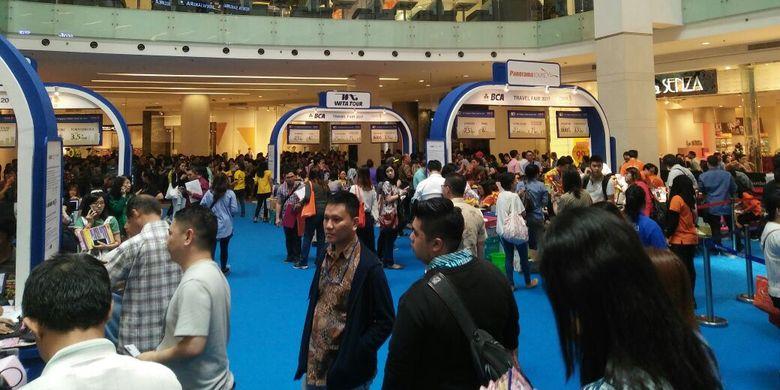 Singapore Airlines - BCA Travel Fair kembali diselenggarakan pada tanggal 24 - 26 Februari 2017 di Main Atrium Gandaria City, Jakarta.
