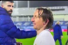 Percakapan Modric dan Pique Selepas El Clasico, Berisi Kalimat Sindiran