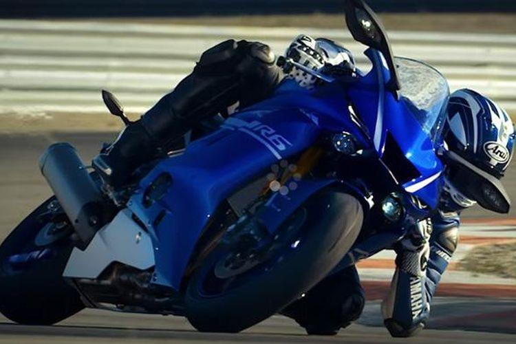 Yamaha YZF-R6 terbaru dalam penggalan video resmi.