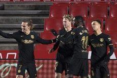 Babak I Elche Vs Barcelona, Gol Frenkie de Jong Bawa Barca Unggul