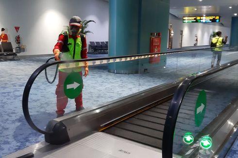 Tingkatkan Pencegahan Corona, AP II Semprotkan Disinfektan di Bandara