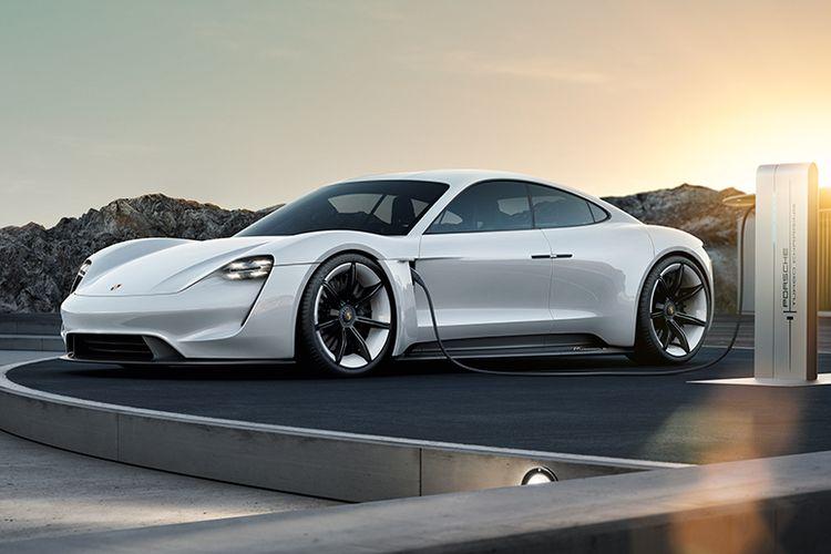 Porsche Concept Study, Mission E.
