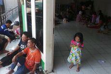 Mengungsi, Korban Kebakaran Pasar Gembrong Kesulitan MCK