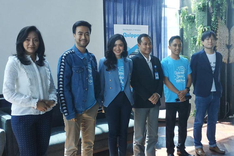 Peluncuran program Super Teacher oleh Quipper Indonesia di Jakarta (17/9/2018)