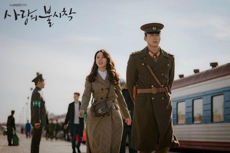 Korean Drama Crash Landing On You.