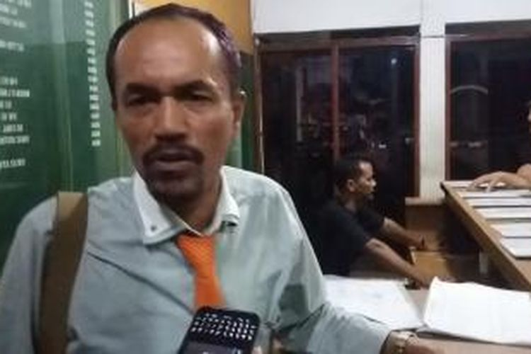 Hakim Pengadilan Negeri Jakarta Selatan, Sarpin Rizaldi, saat ditemui di PN Jaksel, Senin (27/7/2015).