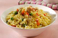 Resep Nasi Jagung Rice Cooker, Olahan Jagung Sisa BBQ Tahun Baru