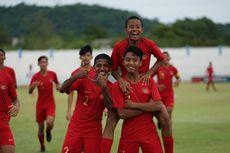Link Live Streaming Timnas U-15 Indonesia Vs Vietnam, Kick Off 15.00