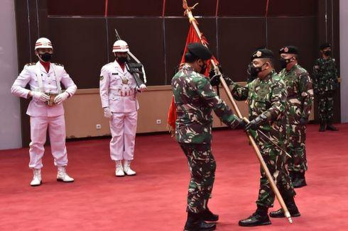 Panglima TNI Pimpin Sertijab Dankodiklat, Aster, Kapuskes, dan Kasetum