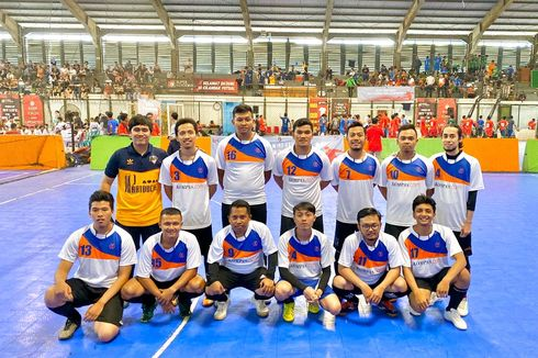 Tim KG Media Ikuti Turnamen Futsal OJK Media Cup 2019