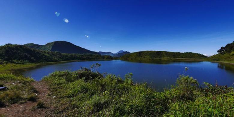 Telaga Dringo di Kabupaten Batang dan perbatasan Banjarnegara, Jawa Tengah.