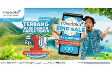 EPIC Sale Hadir Lagi, Nikmati Gebyar Diskon Tiket Pesawat di Traveloka!