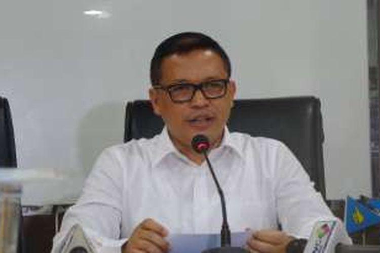 Direktur Tindak Pidana Ekonomi Khusus Bareskrim Polri Brigjen Pol Agung Setya di Bareskrim Polri, Jakarta, Rabu (31/8/2016).