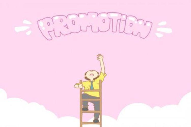 Ilustrasi promosi kerja, kode referral, apa itu kode referral, kode referral adalah teknik promosi.